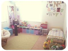http://everclevermom.com/2012/11/toddler-room-redesign-making-it-montessori/