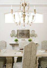 Beautiful classic dining room  #dining #classic #neutral