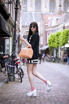 A Dash of Fash: Trendy Womens Fashion Oversize Round Circle Sunglasses 9131