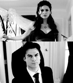 Vampire Diaries; I wanted them together SO much..then they had to make her sired to him..now it's ruined >.