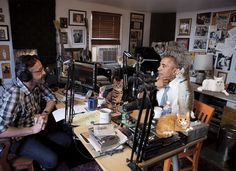 Cool that President Obama stopped by Marc Maron's cat ranch to do an interview.