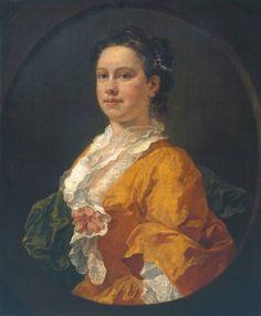 """Mrs. Salter"", William Hogarth, 1741; Tate Collection N01663"