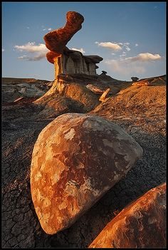 Bisti/De-Na-Zin Wilderness, New Mexico; photo by John Mumaw