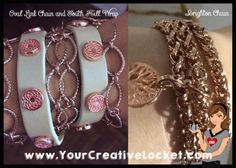 Necklaces as bracelets!  #southhilldesigns #YourCreativeLocket