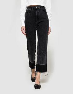 Slim Legion Pant Washed Black