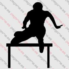 Pegame.es Online Decals Shop  #sport #jump #running #hurdling #vinyl #sticker #pegatina #vinilo #stencil #decal
