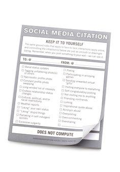 social media citation