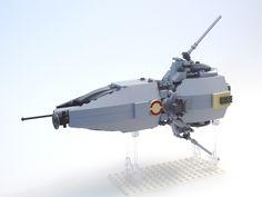 Lego Microscale Frigate