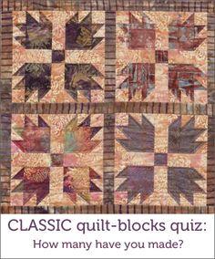 50 classic quilt block designs