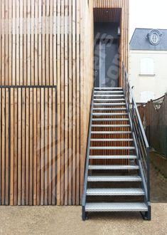 Escalier ext rieur d coration outdoor pour jardin for Escalier exterieur plastique