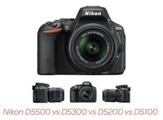 Which is the best Nikon DX camera for your needs? Our extensive Nikon D5500 vs D5300 vs D5200 vs D5100 comparison looks at what each camera can offer.