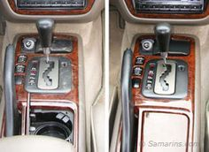 Polishing the dashboard and interior plastic