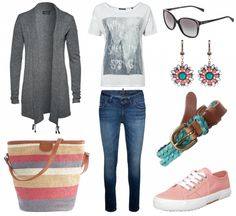 #outfit Mit frischen Farben unterwegs ♥ #outfit #outfit #outfitdestages #dresslove