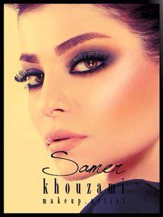 Make up done by Samer Khouzami