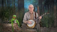 """Steve Martin and Kermit the Frog in """"Dueling Banjos"""" -- Click through to Funny or Die to watch the video."""