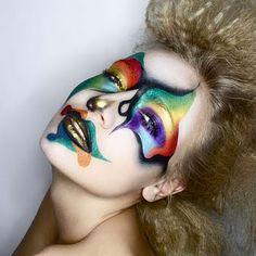 Cool Clown makeup