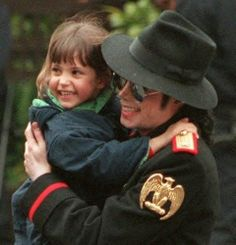 Michael Jackson   I SAW A VIDEO ON THIS,SO CUTE SHE LOVED MICHAEL SO MUCH!