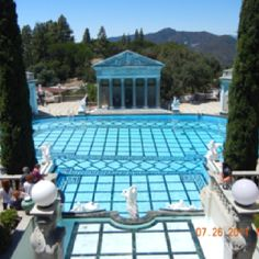 Sure was a beautiful outdoor pool Hearst Castle