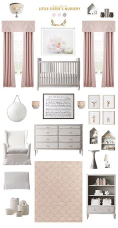 My sister is expecting baby girl any day now, and I'll be photographing the nursery to share next week!  (Check out my first post here about our experience at the RH Baby & Child gallery in Atlanta!)  It looks so beautiful, and I enjoyed putting together a room with a more traditional, sophisticated look.  Ashley, […]
