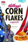 Gabby Douglas, Women's Gymnastics All-Around Champion to be Featured on Kellogg's(R) Corn Flakes(R).  (PRNewsFoto/Kellogg Company)