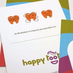 HAPPY TOOTH / Pediatric Dentist by Kanella , via Behance