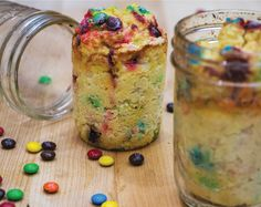 Cake, candy, and gains make this one delicious dessert.