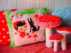 Old Suitcases, Pink Houses, Red Riding Hood, Soft Furnishings, Kitsch, Fairy Tales, Fairy Girls, Shabby Chic, My Arts