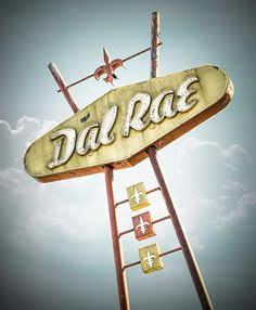 Dal Rae Restaurant neon sign by Shakes The Clown