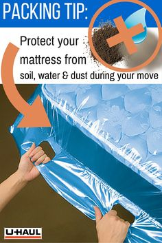 Protect your mattresses and box springs during your move! Our mattress bags will keep your mattresses or box springs protected against dust, soil, and light exposure to water during your move or time in storage. | Packing for a Move