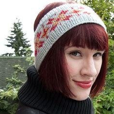 A tutorial on Fair Isle Knitting: Knit this earwarmer headband!