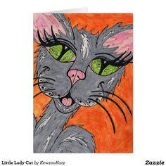 Little Lady Cat Card