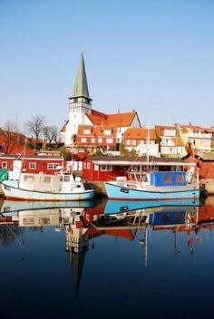 Bornholm Island in the Baltic Sea between Denmark and Sweden. Spent one Christmas there with my buddie Lily and her family while I was living in London.
