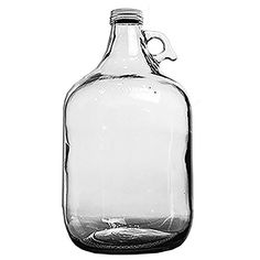 Home Brew Ohio Glass Water Bottle Includes 38 mm Metal Screw Cap 1 gallon Capacity -- More info could be found at the image url.Note:It is affiliate link to Amazon.