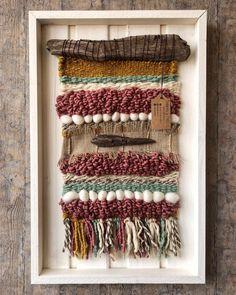 No te pierdas este artículo de mi tienda de Woven wall hanging Tablet Weaving, Weaving Art, Tapestry Weaving, Loom Weaving, Hand Weaving, Burlap Wall, Yarn Wall Art, Weaving Wall Hanging, Textile Fiber Art