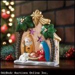 Light-Up Nativity Family Scene - FREE SHIP Continental 48 USA
