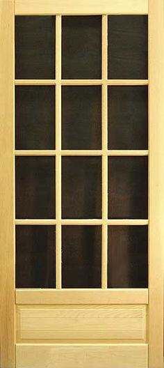 Coppa Woodworking Wood Screen Doors and Wood Storm Doors - Doors Front Door With Screen, Wood Screen Door, Screen Doors, Wooden Screen, Farmhouse Front, Farmhouse Decor, Interior Storm Windows, Wood Storm Doors, Window Repair