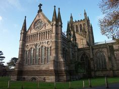 Hereford Cathedral, West Midlands, England