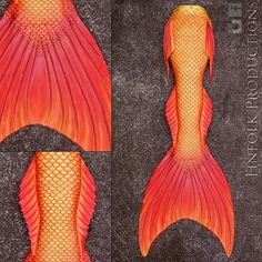 Full Silicone Merman Tail by Finfolk Productions.