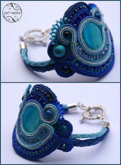MASIN  Soutache (sutasz) bracelet