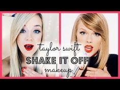 "Taylor Swift ""Shake It Off"" Makeup Tutorial!   615carebear - YouTube"