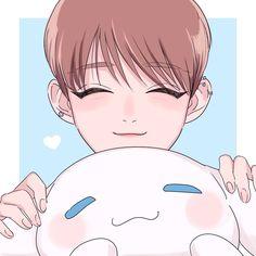 Joshua Fanart//Seventeen Wonwoo, Jeonghan, Vernon, Jisoo Seventeen, Joshua Seventeen, Kpop Drawings, Art Drawings, Hoshi, Cartoon Fan