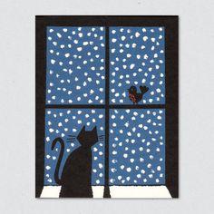 Christmas Eve Card / Lisa Jones Studio