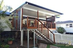 flyover roof on carport Deck With Pergola, Patio Roof, Patio Decks, New Patio Ideas, Balustrade Design, Patio Deck Designs, Front Deck, Outdoor Living, Outdoor Decor