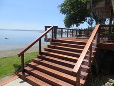 Live next to the water?  Love real hardwood?  Pick Kayu Batu.  The best decking material.  Period.