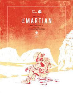 The Martian #alternative #movie #art #poster #complex #illustration #film #creative