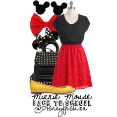 Back To School Fashion Inspired by your Favorite Disney Characters!
