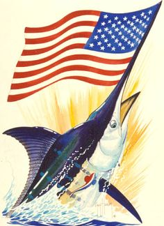 Guy harvey murica america pinterest guy fish and craft for American flag fish