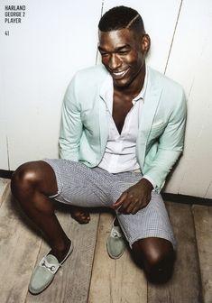 Homens negros de roupas brancas - estiloblack