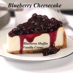 Pink Zebra Recipes- Blueberry Cheesecake.  Featuring- Blueberry Muffin and Vanilla Creme