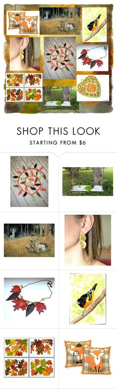 """""""Leaves are Falling All Around"""" by polinakaranda ❤ liked on Polyvore"""